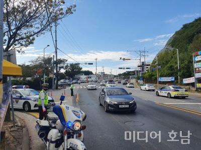 전남 경찰, 추석연휴 특별교통관리로 평온한 명절 마무리