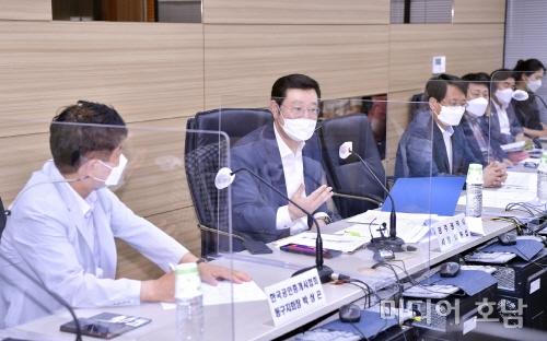 이용섭 광주시장, 공인중개사협회와 부동산 정책간담회