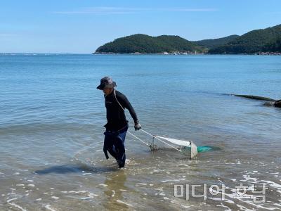 전남도,해양쓰레기 수거 체험으로 바다 살리기 앞장