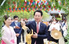 김영록 전남지사, 부처님 오신날 봉축법요식